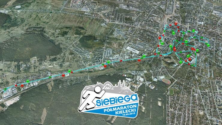 Woźniak wygrał pierwszy Półmaraton Kielecki