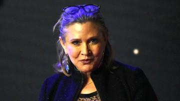 Carrie Fisher przed śmiercią brała narkotyki - ujawniono raport z sekcji zwłok aktorki