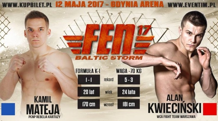 FEN 17: Kwieciński - Mateja w karcie walk