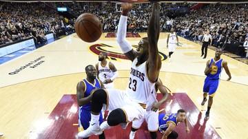 2016-10-26 NBA: Zwycięstwo Cavaliers na inaugurację, klęska Warriors