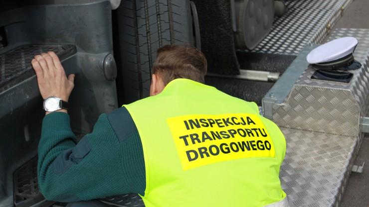 """Protest pracowników Inspekcji Transportu Drogowego. Kontrole będą """"niezwykle skrupulatne"""""""