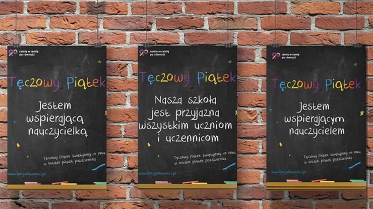 Kampania Przeciw Homofobii zachęca do okazywania wsparcia nieheteroseksualnym uczniom. Część organizacji protestuje