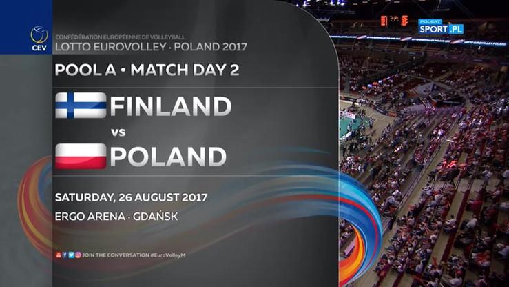 Polska - Finlandia 3:0. Skrót meczu