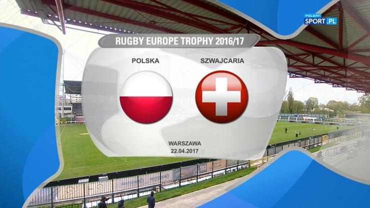 Polska - Szwajcaria 12:22. Skrót meczu