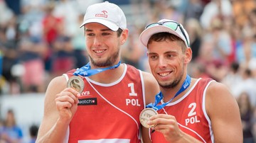 2018-01-14 Kantor i Łosiak wywalczyli srebro turnieju CEV Masters