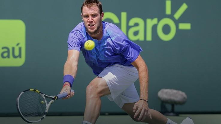 Turniej ATP w Newport: krótki mecz Socka z Hernychem