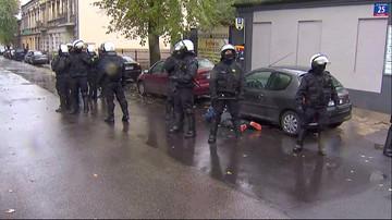 16-10-2016 18:28 Przepychanki z policją przed derbami Łodzi. Ponad 20 osób zatrzymanych
