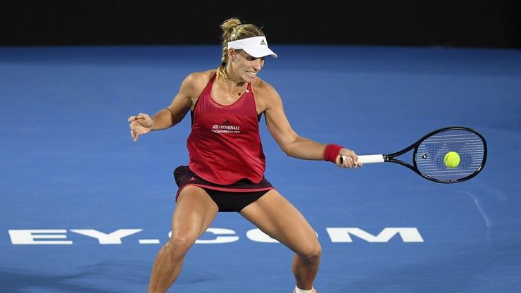 WTA w Sydney: Kerber pokonała w półfinale pogromczynię Radwańskiej