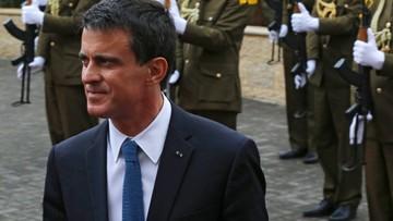 24-05-2016 12:19 Francuska policja przełamała strajk w rafinerii; premier zapowiada kolejne akcje