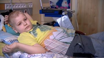 Kacper od 15 miesięcy leży w szpitalu. Czeka na nowe serce.