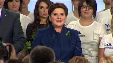 Beata Szydło: Daliśmy radę!