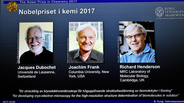 Nobel z chemii za prace nad metodą mikroskopii krioelektronowej