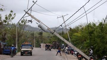 07-10-2016 16:23 Już 478 ofiar śmiertelnych huraganu Matthew na Haiti