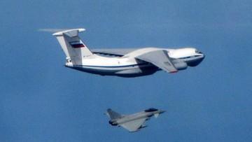 Brytyjskie myśliwce przechwyciły nad Bałtykiem rosyjskie samoloty transportowe