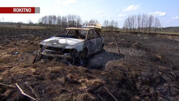 Chciał wysuszyć ubranie, spalił swój samochód. Opłakany finał wycieczki 27-latka