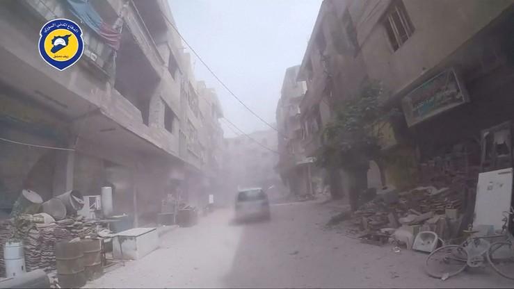 Syryjskie wojsko opanowało prawie całą dzielnicę Al-Kabun w Damaszku