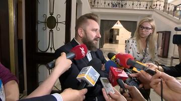 """09-06-2017 11:56 """"Piękny przykład partiokracji"""". Liroy-Marzec o wykluczeniu go z klubu Kukiz'15"""