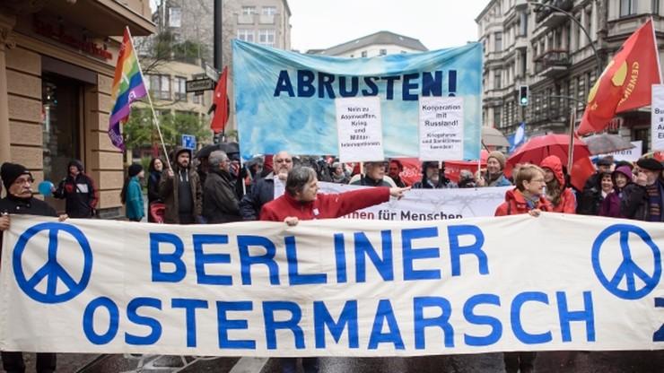 Marsze wielkanocne w Niemczech. Uczestnicy krytykowali NATO oraz postulowali ograniczenie zbrojeń