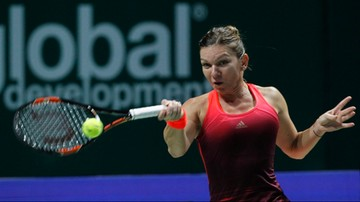2015-10-25 WTA Finals: Halep lepsza od debiutującej Pennetty