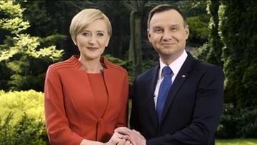 Para prezydencka złożyła życzenia z okazji Dnia Rodziny