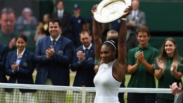 09-07-2016 16:59 22. wielkoszlemowy tytuł Sereny Williams