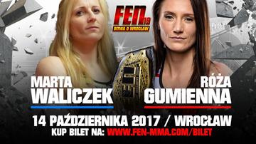 2017-09-25 FEN 19: Gumienna kontra Waliczek w walce o pas!