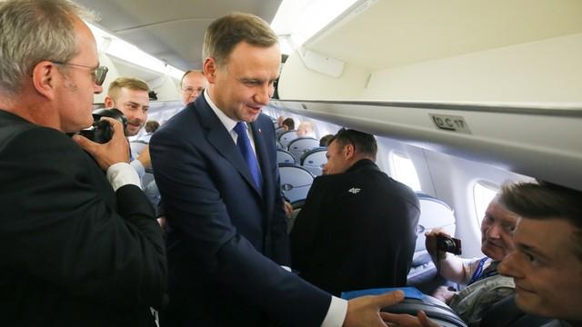 Prezydent Duda rozpoczął wizytę w Berlinie