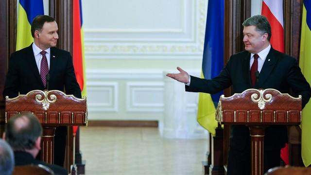 Prezydent Duda zakończył wizytę na Ukrainie
