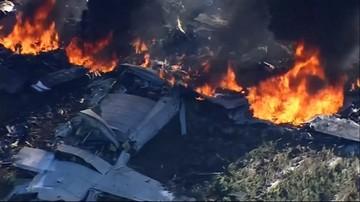 11-07-2017 05:11 Katastrofa samolotu wojskowego w USA. Zginęło 16 osób