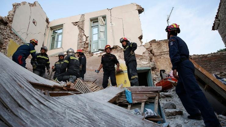 Na Lesbos usuwanie szkód po trzęsieniu ziemi