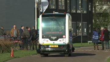 28-01-2016 14:33 Holandia: pierwszy na świecie autonomiczny mikrobus wyjechał na drogę publiczną