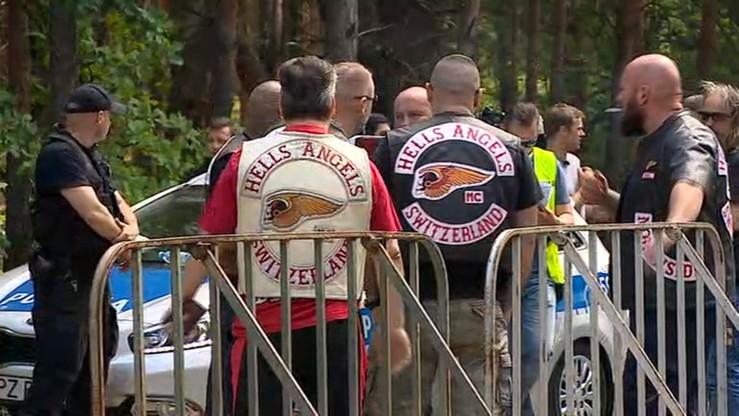 5 tys. policjantów pilnuje 1 tys. motocyklistów. Międzynarodowy zjazd Hells Angels w Polsce