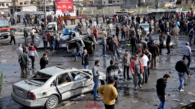 Seria zamachów na przedmieściach Damaszku. Co najmniej 142 zabitych