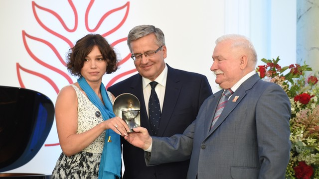 Córka Borysa Niemcowa laureatką Nagrody Solidarności