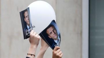 07-05-2017 23:43 Francja: po podliczeniu 82 proc. głosów Macron zdobył 64,01 proc., a Le Pen 35,99 proc.