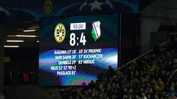 2016-11-23 Borussia Dortmund - Legia Warszawa, czyli rekordów cały worek
