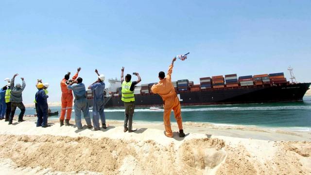 Egipt: Ukończono budowę nowego Kanału Sueskiego