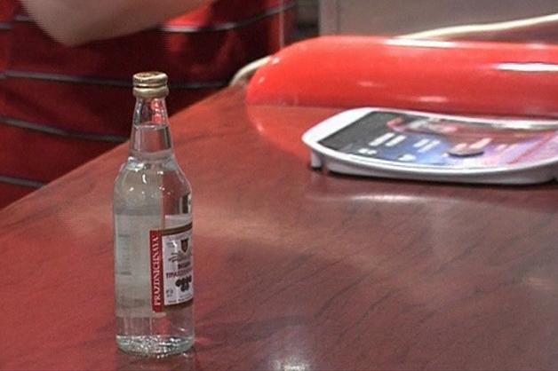 Rekordowy spadek produkcji wódek w Rosji