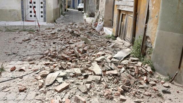Grecja: trzęsienie ziemi, spore szkody na Lesbos