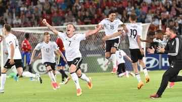 2017-07-01 Euro U-21. Media: Niemcy świętowali do białego rana