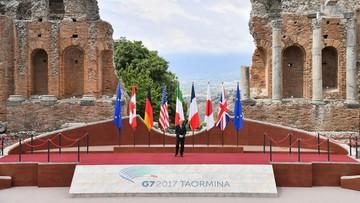 26-05-2017 12:15 Zainaugurowano szczyt G7. W scenerii starożytnego teatru w Taorminie