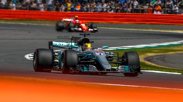 Formuła 1 - Hamilton najszybszy w Silverstone, pech Ferrari
