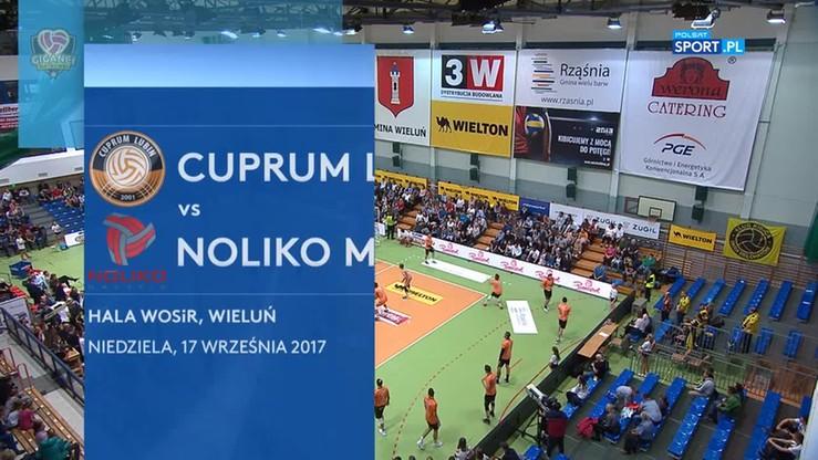 Cuprum Lubin - Noliko Maaseik 3:2. Skrót meczu