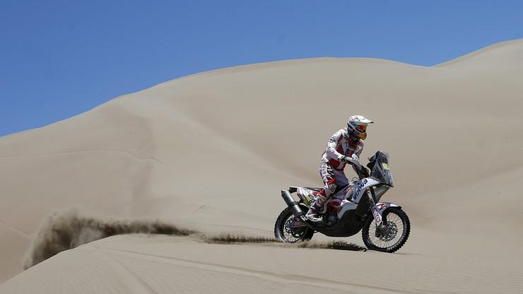 Awans Przygońskiego po dziewiątym etapie rajdu Dakar