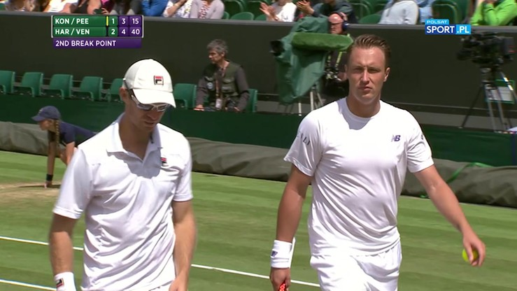 Najładniejsze akcje Wimbledonu - 12.07