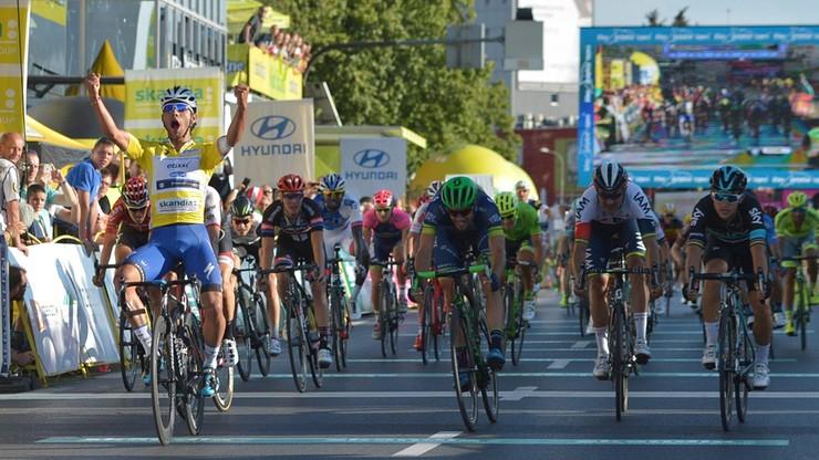 Tour de Pologne: Gaviria wygrał w Rzeszowie, Kwiatkowski trzeci