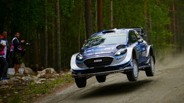 2017-07-27 Rajd Finlandii: Tanak liderem po pierwszym odcinku