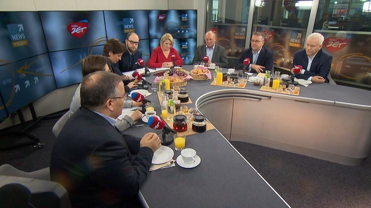 """""""Śniadanie w Radiu Zet"""". Mucha: nie będzie caracali, bo potrzebna jest kasa na obietnice wyborcze"""