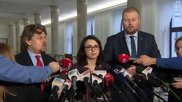 Posłowie Nowoczesnej ukarani naganą i karą finansową za niegłosowanie nad projektem dot. aborcji