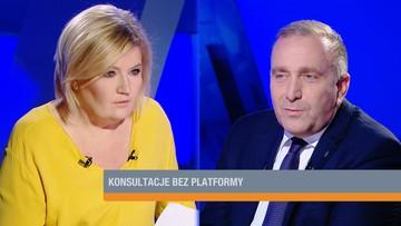 """""""Wywiesił białą flagę"""". Schetyna o porozumieniu Dudy z Kaczyńskim ws. projektów ustaw o sądach"""